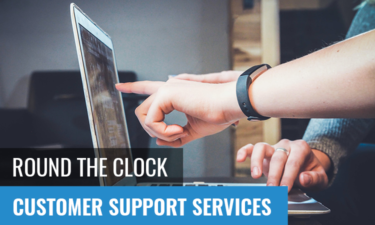 eCommerce customer support services